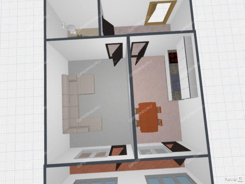 однокомнатная квартира на проспекте Ленина дом 154 к2 город Арзамас