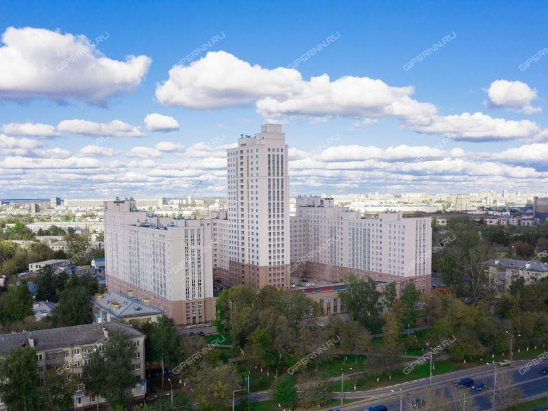 двухкомнатная квартира в новостройке на Московском шоссе