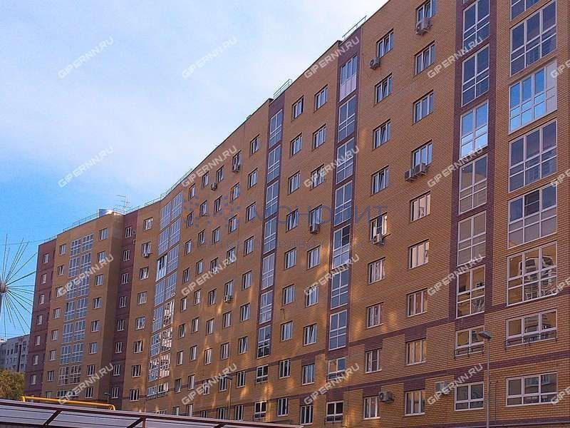 двухкомнатная квартира на улице Бориса Панина дом 7 к3