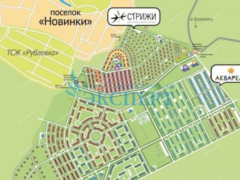 двухкомнатная квартира в Инженерном проезде дом 3 к1 посёлок Новинки