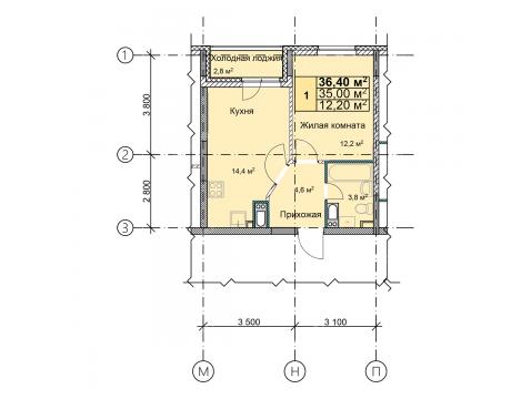 Купить 1 комнатную квартиру в новостройке на улица