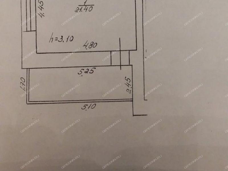 однокомнатная квартира на улице Замкнутая дом 2