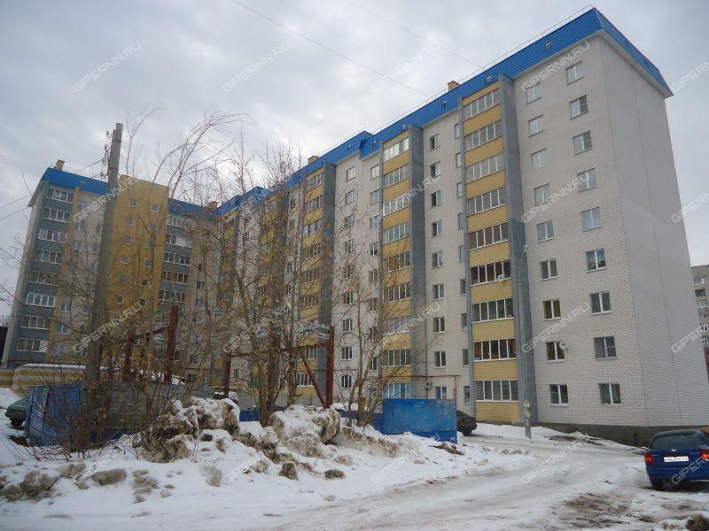 двухкомнатная квартира в переулке Светлогорский дом 2