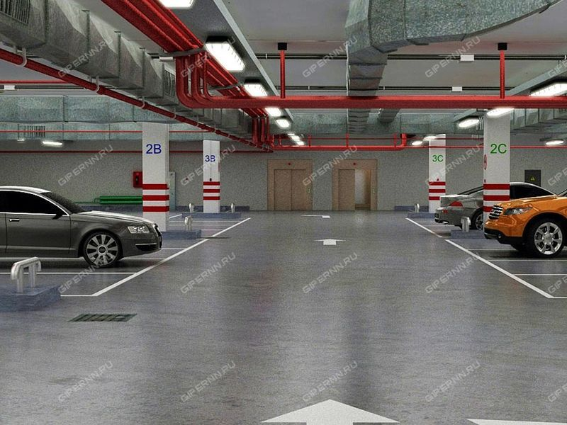парковочное место на улице Почаинская