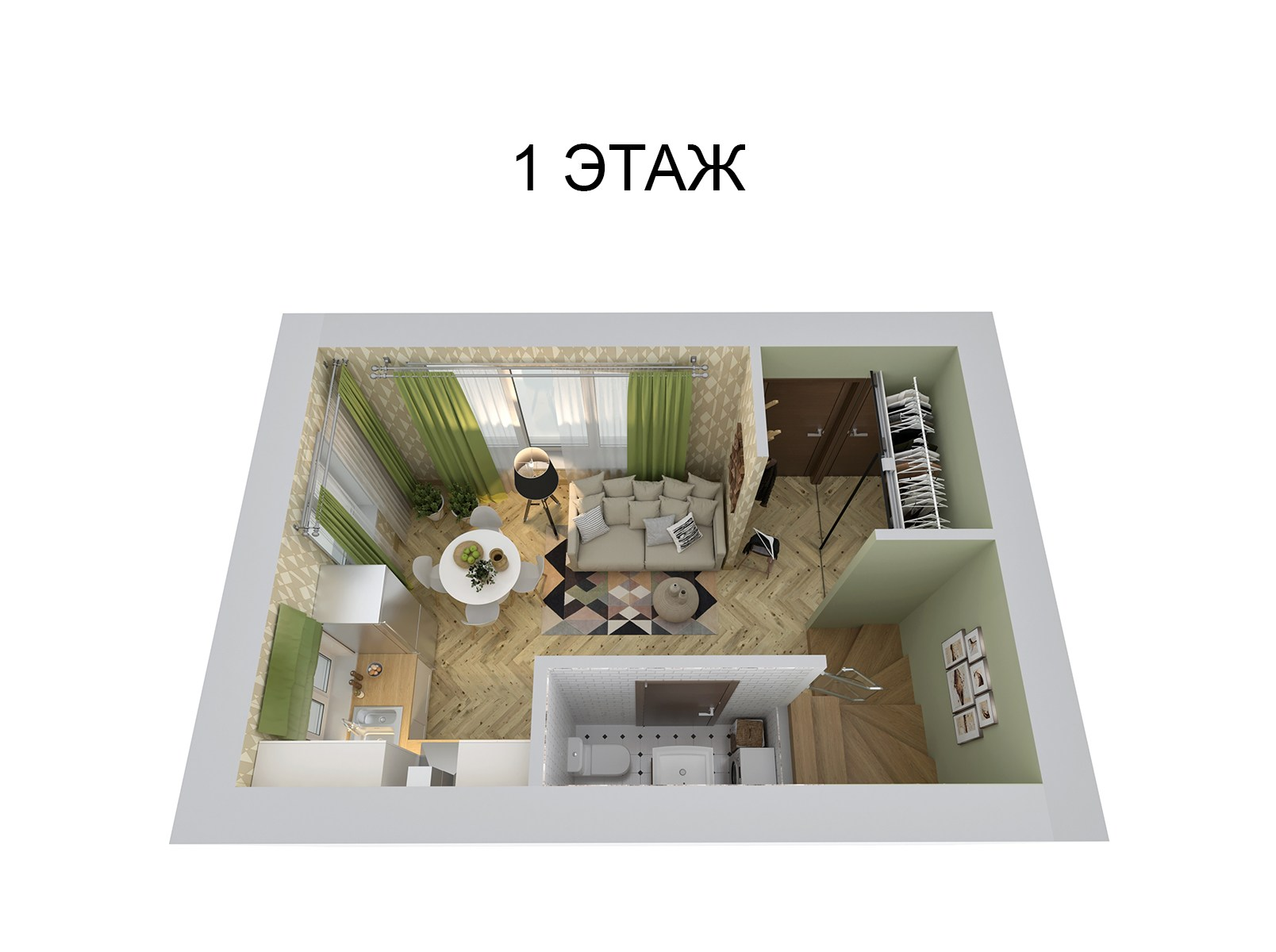 Купить 3 этажный таунхаус из кирпича на улице Агрономическая в