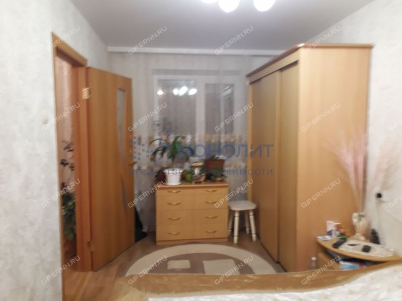 трёхкомнатная квартира на улице Никиты Рыбакова дом 11